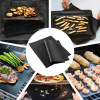 5PCS Reusable BBQ Grill Mat Easy Clean Bake Grilling Mats Non Stick Barbecue Pad