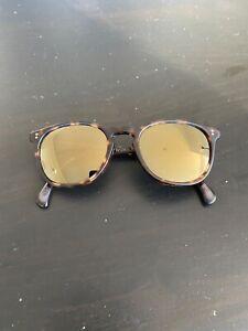 Oliver Peoples Finley Esq - Polarized Tortiseshell Sunglasses