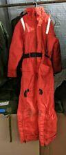Mustang MS175 Survival System Floater Suit  Size Medium 70/40  Orange