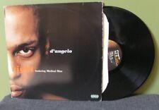 """D'Angelo feat Redman & Method Man """"Left & Right"""" 12"""" Orig OOP DJ Premier Common"""