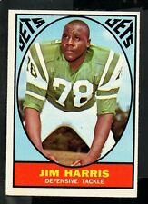 1967 Topps Football Card #94 Jim Harris-New York Jets