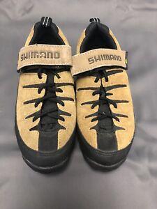 SHIMANO SPD Mountain Bike Cycling Shoes Size 9