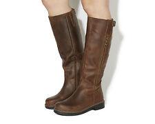 Zip Knee High Boots Casual Women's OFFICE
