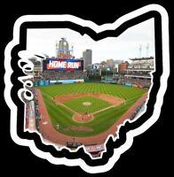 MAGNET Cleveland Indians Progressive Field Custom Vinyl MLB Baseball Chief Wahoo
