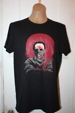 Dr. Hannibal Lecter Mask Black T-Shirt Silence Of The Lambs Men's