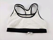 Women's Shock Absorber Sport Bra Size 34 B Medium Black White