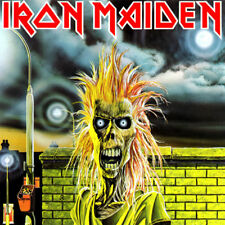 Iron Maiden-Iron Maiden Vinyl LP Cover Sticker or Magnet