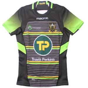 Northampton Saints Alternate on Field Rugby Jersey with GPS Pocket Tight Fit
