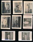 1950s+Original+Eight+Photo+Nude+Striptease+Set+Glamorous+Brunette+vv
