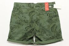 Women's Levi's Classic Chino Short (299700002) Palm Tree Green - Tag Size 28