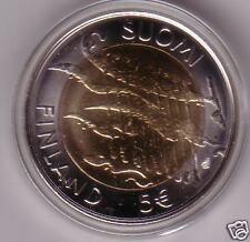 5 euro 2007 FINLANDIA bimetallico Finland FINLANDE Suomi Finnland Финляндия
