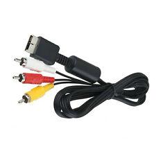 AV Audio Video Cable Cord For Sony PlayStation PS3 PS2 Console System