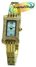 PEGE12X1 - Pulsar Girl Women Ladies Gift Gold Stone Watch DRS Bracelet GP