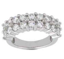 2.82 carat Round Diamond Wedding Ring Mens 14k Gold Band F color Si1 clarity