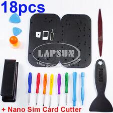 Open Repair Tool Screwdriver Set Kit iPhone 4 4S 5 Screw Plate + Nano Sim Cutter