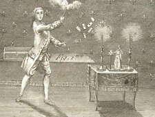Magie blanche : série de gravures XVIIIe.