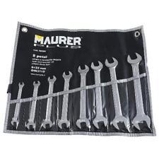 Jgo.llaves fijas Maurer Plus 8 Pzas.