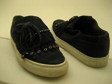 Womens Sartore fringed kiltie sneaker size 39.5 masde in Italy