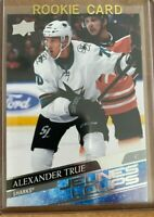 2020-21 UD Series 1 French Young Guns #225 ALEXANDER TRUE RC SP SAN JOSE SHARKS