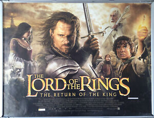 Cinema Poster: LORD OF THE RINGS RETURN OF THE KING (Main Quad) Viggo Mortensen