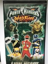 Power Rangers Wild Force: Lion Heart (VHS, 2002) Used Very Good Condition Disney