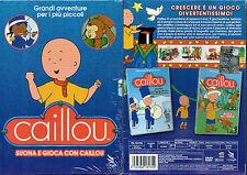 CAILLOU - SUONA E GIOCA CON CAILLOU - BOX 2 DVD (NUOVO SIGILLATO)