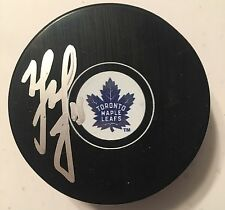 MATT MARTIN SIGNED TORONTO MAPLE LEAFS 100th ANNIVERSARY PUCK AUTOGRAPH
