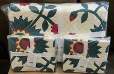 Pottery Barn Maisie Floral King quilt 2 King shams
