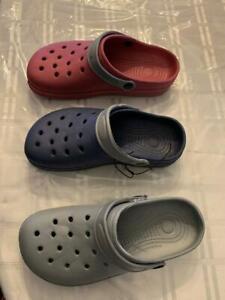 NEW  mens summer beach garden slip -on sandals CLOGS ...asst  designs