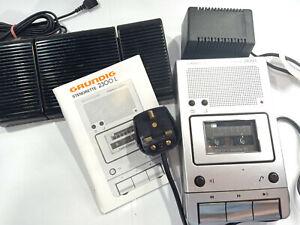 Grundig Stenorette 2300L Steno-Cassette Dictation Transcriber Transcription