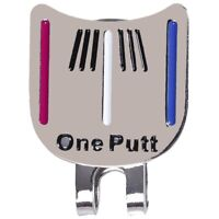 Magnetic cap clip removable metal golf one putt aiming ball marker set Colo P4M6