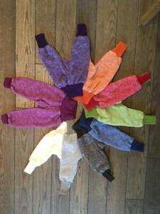 Cosilana Hose mit Nabelbund aus Wolle