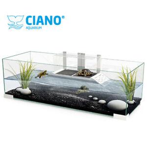 Ciano® Tartarium Tartarughiera e Supporto per Tartarughe d'acqua 40 - 60 - 80 cm