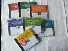 CD ROM I GRANDI CLASSICI DELLA LETTERATURA STRANIERA Win e Mac L'Espresso NUOVI