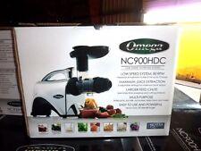 NEW Omega NC900HDC Juicer 6th Gen Masticating Fruit Vegetable Juice Extractor
