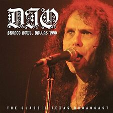 DIO Bronco Bowl Dallas Texas 1990 Live Radio Broadcast CD  sabbath ronnie james