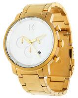 MVMT Herren Armbanduhr Chronograph gold MC01GC