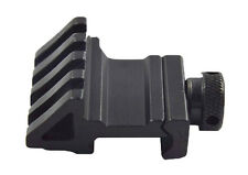 45 Degree Offset  Rail Mount with Picatinny /Weaver Style Rail Mount(Black)-3