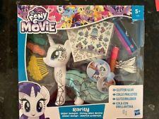 Hasbro My Little Pony The Movie Rarity Glitter Designs NEW!