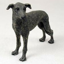 Greyhound Dog Hand Painted Figurine Resin Statue Collectible Brindle Puppy New