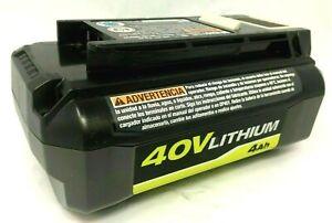Ryobi OP40401 40V Lithium-Ion 4Ah High Capacity Battery LN