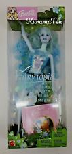 Mattel Barbie Fairytopia Sparkle Fairy Blue Doll #B5735 New