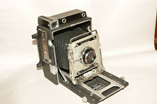 GRAFLEX CROWN GRAPHIC 4X5 LARGE FORMAT CAMERA W/XENAR 135mm, f4.7 LENS