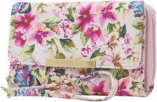 Mundi RFID Floral Print Big Fat Wallet One Size Pink multi