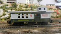 Roundhouse MDC HO Sierra Ry Drovers Caboose, Upgraded