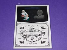 2010 National Treasures CHAD HENNE #77 Premium Base/99 Miami DOLPHINS Wolverines