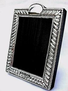 Classic Finest 999 Quality Hallmarked Silver London & Britannia Photograph Frame