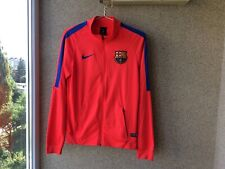Barcelona Football Jacket 2016/2017 Spain Camiseta S Oranje Soccer Nike