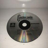 PROFESSIONALLY RESURFACED Castlevania Symphony of the Night Playstation 1 PS1