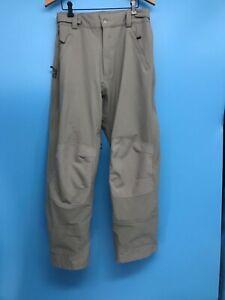 Excellent Flylow Chemical Men's Beige Waterproof Breathable Ski Snow Pants SZ: M